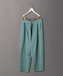 <6(ROKU)>PIPING LEATHER PANTS/長褲