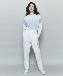 <6(ROKU)>BAFU TUCK PANTS/褲子 日本製