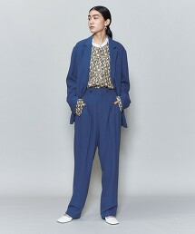 <6(ROKU)>DOBBY SET UP PANTS/長褲 日本製