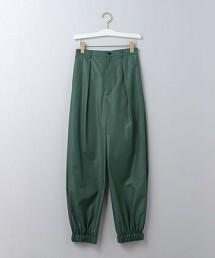 <6(ROKU)>HEM GOMU PANTS/休閒長褲 日本製
