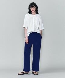 <6(ROKU)>BLOCK PILE PANTS/長褲 日本製