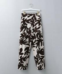 <6(ROKU)>LEAF PRINT PANTS/長褲 Ψ 日本製
