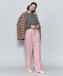<6(ROKU)>WIDE PANTS/長褲 日本製