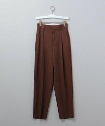 <6(ROKU)>TUCK PANTS/長褲 日本製
