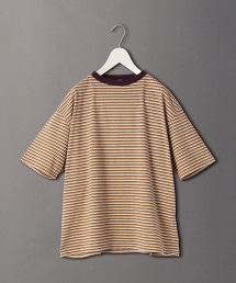 <6(ROKU)>BORDER T-SHIRT/T恤