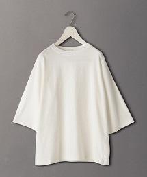 <6(ROKU)>FASTENER SHORT SLEEVE T-SHRT/T恤