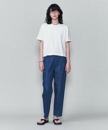 <6(ROKU)>COTTON BASIC CREW NECK T-SHIRT/T恤 日本製