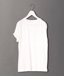 <6(ROKU)>SHOULDER TUCK TOPS/T恤
