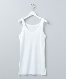 <6(ROKU)>RIB CAMISOLE/吊帶衫 日本製