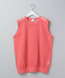 <6(ROKU)>SUKE LOCK NO SLEEVE PULLOVER/針織衫