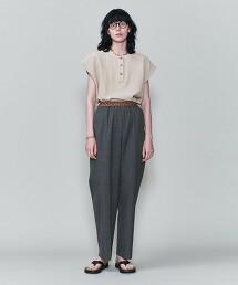 <6(ROKU)>HENLY NECK KNIT/針織衫