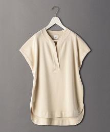 <6(ROKU)>SKIPPER FRENCH SLEEVE PULLOVER/針織上衣
