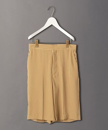<6(ROKU)>STRIPE SHORT PANTS/長褲: