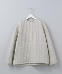<6(ROKU)>STRIPE QUILTING PULLOVER/上衣