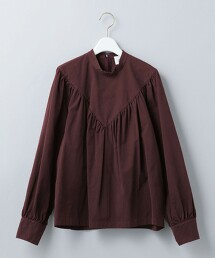 <6(ROKU)>COTTON BAFU VOLUME BLOUSE/罩衫 日本製