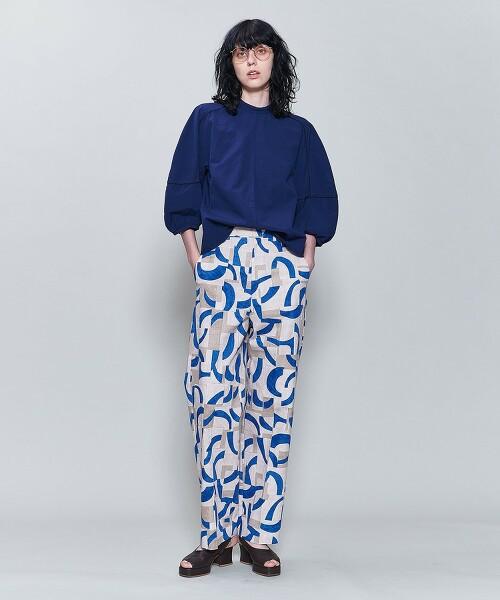 <6(ROKU)>COTTON PIPING SHIRT/襯衫 日本製