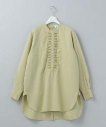 <6(ROKU)>PIN TUCK SHIRT/襯衫 日本製