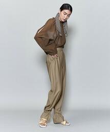 <6(ROKU)>SUKE BLOUSE/罩衫 日本製
