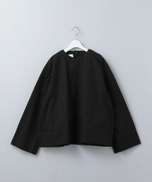 <6(ROKU)>COTTON FLARE SLEEVE BLOUSE/罩衫 日本製