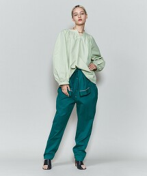 <6(ROKU)>COTTON VOLUME STITCH SHIRT/襯衫 日本製