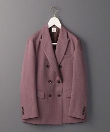 <6(ROKU)>PEAKED LAPEL JACKET/西裝外套 OUTLET商品