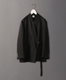 <6(ROKU)>HEAVY LINEN JACKET/西裝外套