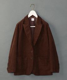 <6(ROKU)>CORDUROY JACKET/西裝外套