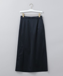 <6(ROKU)>SATIN SKIRT/長裙
