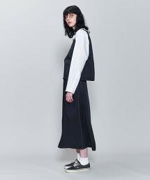 <6(ROKU)>SATIN SKIRT/裙子