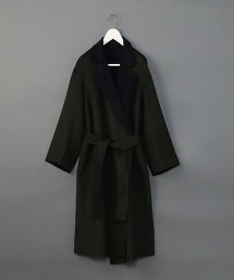 <6(ROKU)>DOUOBLE REVER GOWN COAT/大衣 OUTLET商品