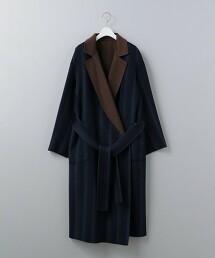 <6(ROKU)>REVER TAILOR COAT/大衣