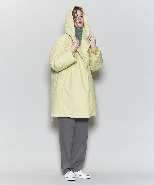 <6(ROKU)>SHAWL HOODED COAT/大衣 OUTLET商品