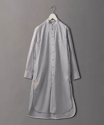<6(ROKU)>STRIPE SHIRT ONE PIECE/洋裝