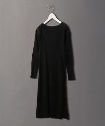 <6(ROKU)>SIDE SLIT ONE PIECE/洋裝 OUTLET商品