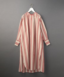 <6(ROKU)>STRIPE LONG ONE PIECE/洋裝