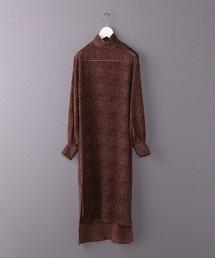 <6(ROKU)>PRINT ONE PIECE/連身洋裝