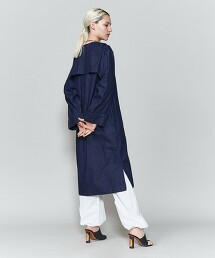 <6(ROKU)>DENIM SAILOR DRESS/連身裙 日本製