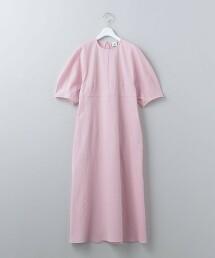 <6(ROKU)>VOLUME SLEEVE DRESS/洋裝 日本製