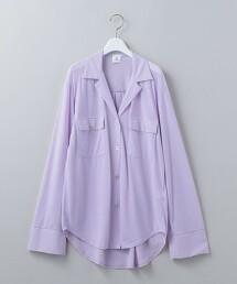 <6(ROKU)>COTTON CUT SHIRT/純棉襯衫 日本製