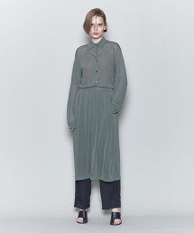 <6(ROKU)>HIGH GAUGE SHIRT/襯衫