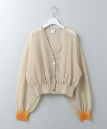<6(ROKU)>SUKE CARDIGAN/針織對襟外套 日本製