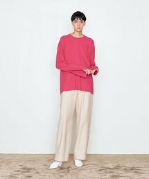 <AEWEN MATOPH>純棉 發熱素材 圓領T恤 日本製