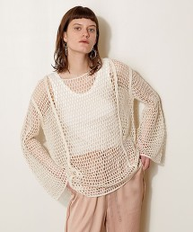<AEWEN MATOPH>網布 罩衫