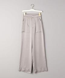 <AEWEN MATOPH>緞面 大口袋軍褲 日本製