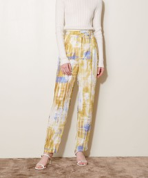 <AEWEN MATOPH)>印花 錐形褲 日本製