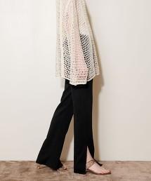 <AEWEN MATOPH> 內裡毛 開衩 長褲 日本製