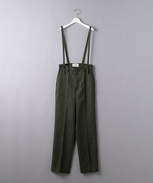 <AEWEN MATOPH>開衩吊帶褲 日本製