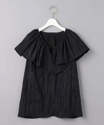 <AEWEN MATOPH>摺邊 2WAY 罩衫 日本製