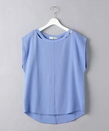 <AEWEN MATOPH>夏季針織 開口領 T恤 日本製