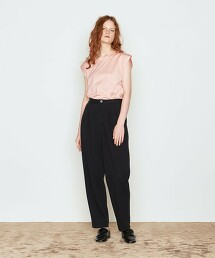 <AEWEN MATOPH>純棉 圓領 無袖 T恤 日本製